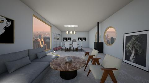 Atul Living Room 1 - Modern - Living room - by Atul Pratap