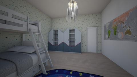 Specific - Masculine - Kids room - by Twerka
