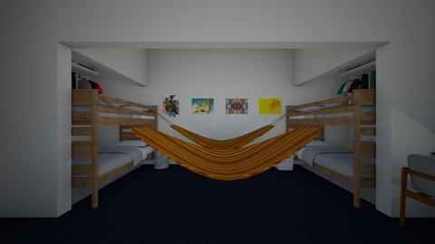 Dorm Suite Style2 Remodel - Bedroom - by SammyJPili