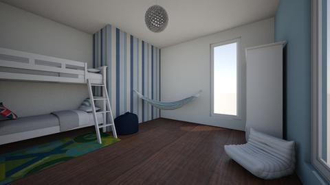 Boys bedroom - Kids room - by RavenReyes