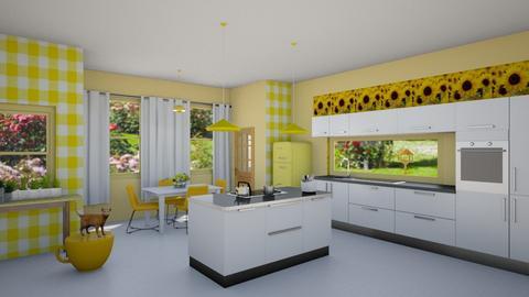 playful kitchen - Kitchen - by fippydude