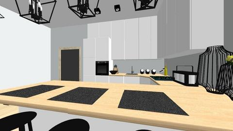 salon - Kitchen - by jaskolkach