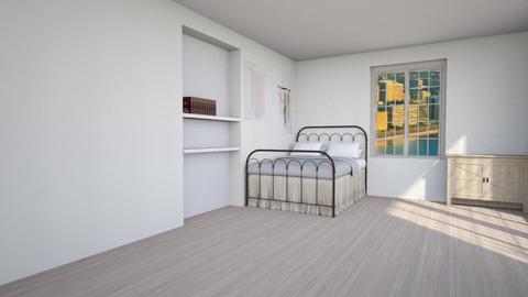Bohemian  dove beddroom - Living room - by Moonpearl