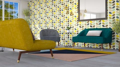 Stem Wallpaper - Living room - by millerfam