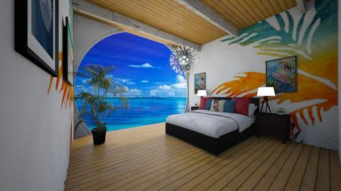 Surf Bedroom - Global - Bedroom - by Applestyler
