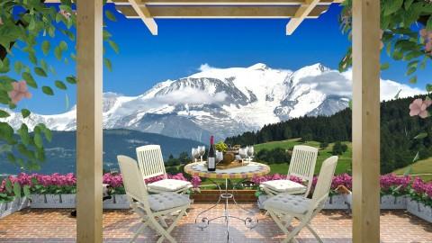 Alpine View - Garden - by lydiaenderlebell