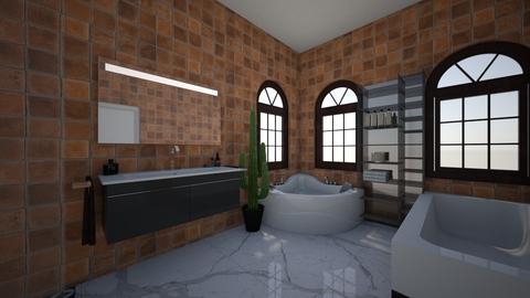 bathroom - Modern - Bathroom - by humphries2001