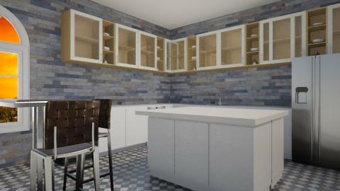 typical kitchen - Vintage - Kitchen - by randallr