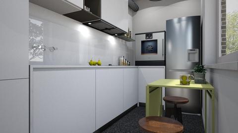narrow - Kitchen - by hauser