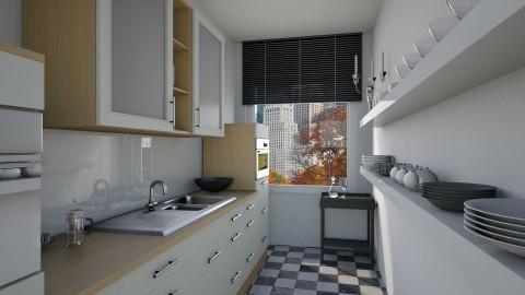 kitchen Wilrijk - Kitchen - by Elise DR