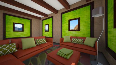 Nature Room - Living room - by Brigid123
