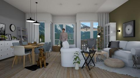 Scandic Living - Living room - by Eleonor Debus