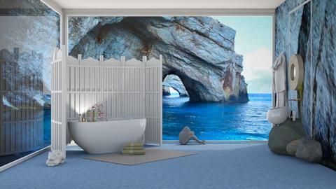 eclectic bathroom - by nat mi