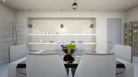 light crem kitchen 5 - Glamour - Kitchen - by Bianca Interior Design