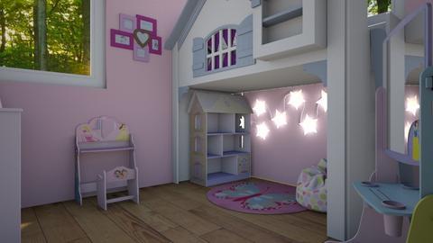 Chloe - Kids room - by miah