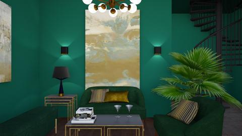 jade room - Living room - by Starry Eyed Loser