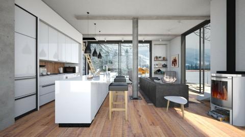 Membrane wind - Modern - Kitchen - by Leyvna