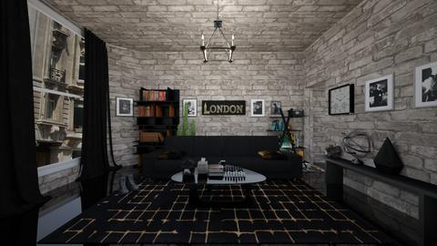 hardin scotts living room - Living room - by ciarag75