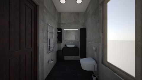 Bathroom - Minimal - Bathroom - by leyaaa