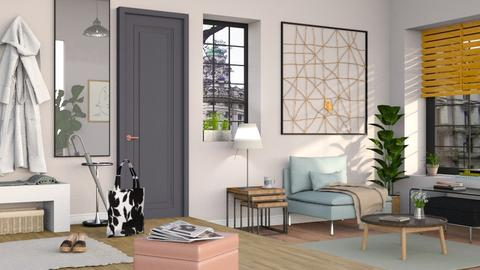 Back Home - Living room - by Sally Simpson