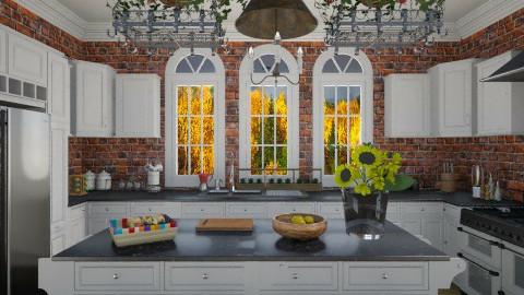 Kitchen - Rustic - Kitchen - by giulygi