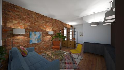New Open Plan Apt - Modern - Living room - by TimoMcGregor