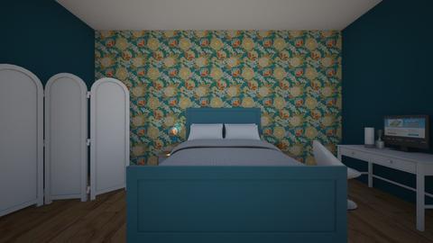 blue heaven - Bedroom - by Gracie1989989821