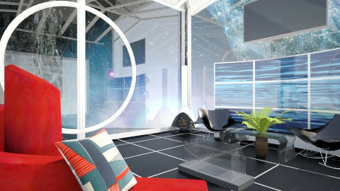 Space Station  - Living room - by jlively