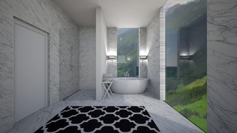 marble_bathroom4 - Bathroom - by MaluMeyer
