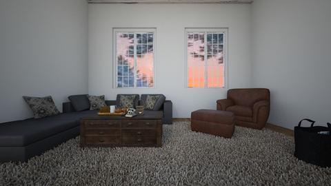 winter - Living room - by oriane dfn
