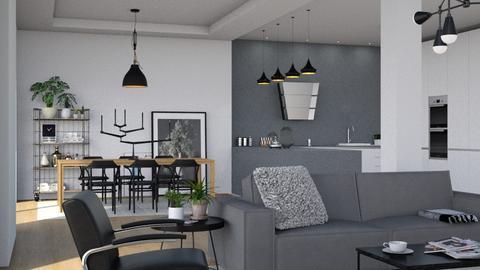 Thonet living_dining - Living room - by mnhoyer24