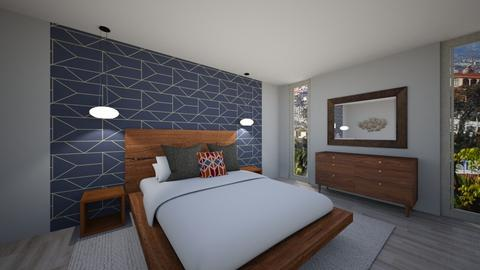 Modern Escape - Bedroom - by kck22