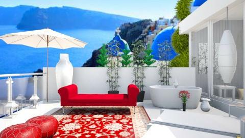 Greece Balcony - Modern - by Mirjeta Maxhuni