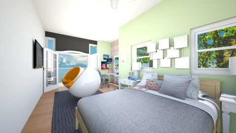 Bed Of Dreams - Bedroom - by HyperDino