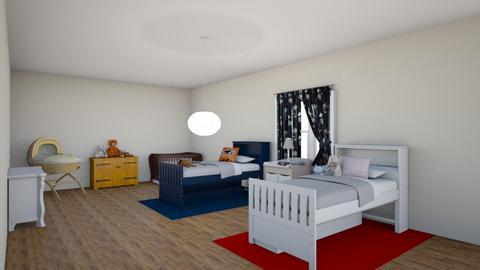 kids bedroom - by maritaaslamazashvili