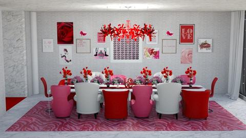 All We Need Is Love - Dining room - by creato