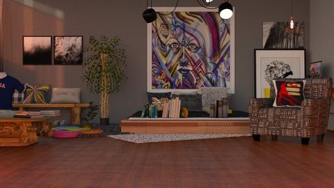 Eclectic Bedroom - by jasmin_jasmin