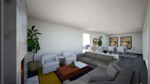 oby living 1 - Living room - by Nnenna Muoghalu