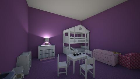 Ashonda and Kaylee - Kids room - by paiz2000