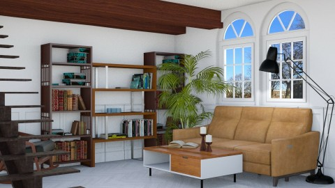 Home for Bookworms - by designer71034