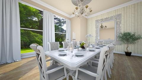 Dinner - Classic - Dining room - by Saharasaraharas