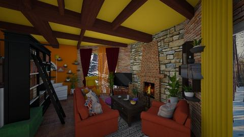 kotage living room with d - by Moriia