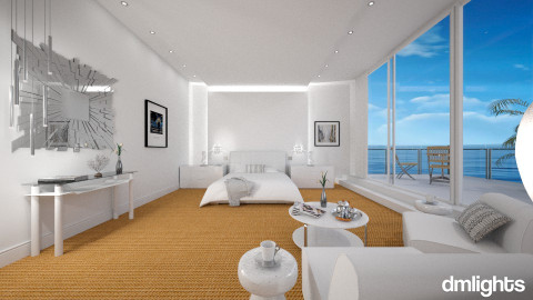 Ocean View - Bedroom - by DMLights-user-982267