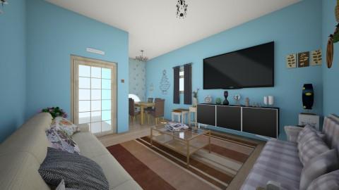 living space2 - Living room - by Buse Karasu