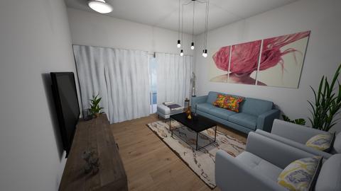 salon 4 - Living room - by sahar94