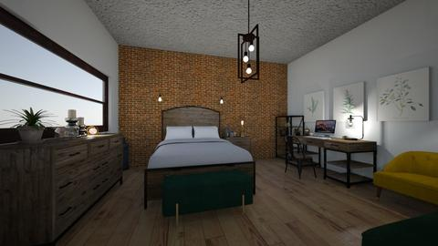 foundry - Bedroom - by PeculiarLeah