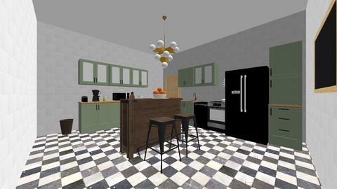 Eclectic Kitchen  - Eclectic - Kitchen - by emmas004
