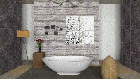 bathroom - Country - Bathroom - by tcrazzyt