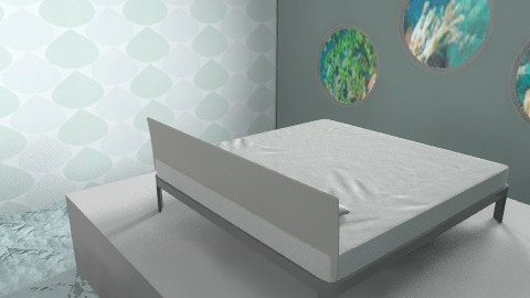 OceanrOOM - Modern - Bedroom - by oscalora