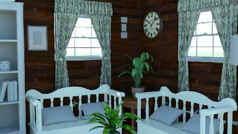 Country Living Room - Testing the new planner  - Retro - Living room - by Gloria B